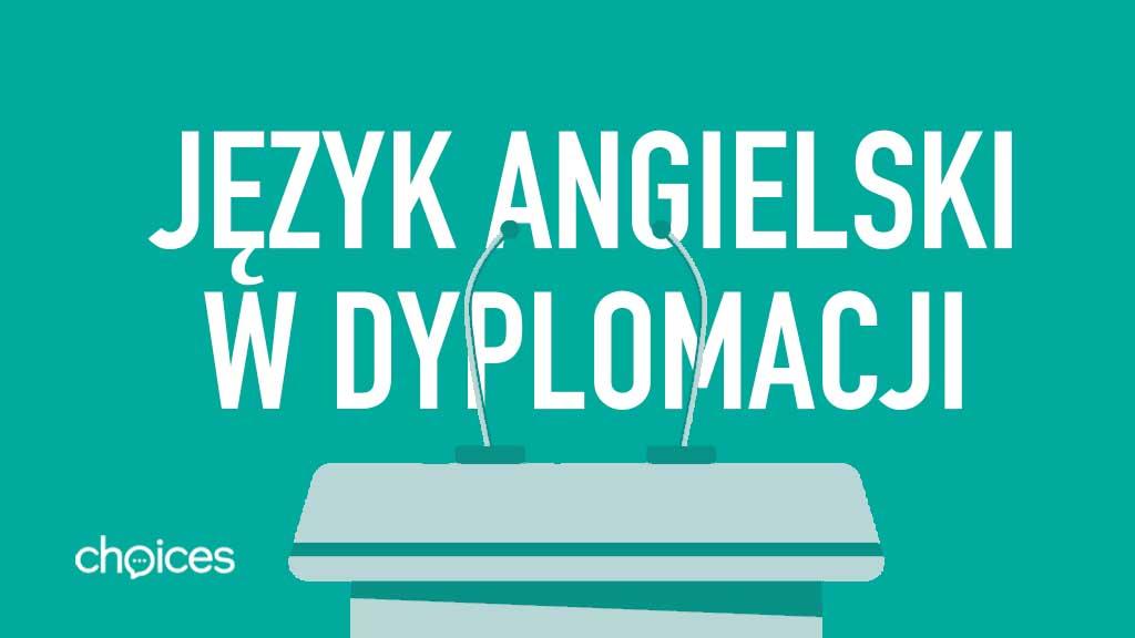 Język angielski w dyplomacji