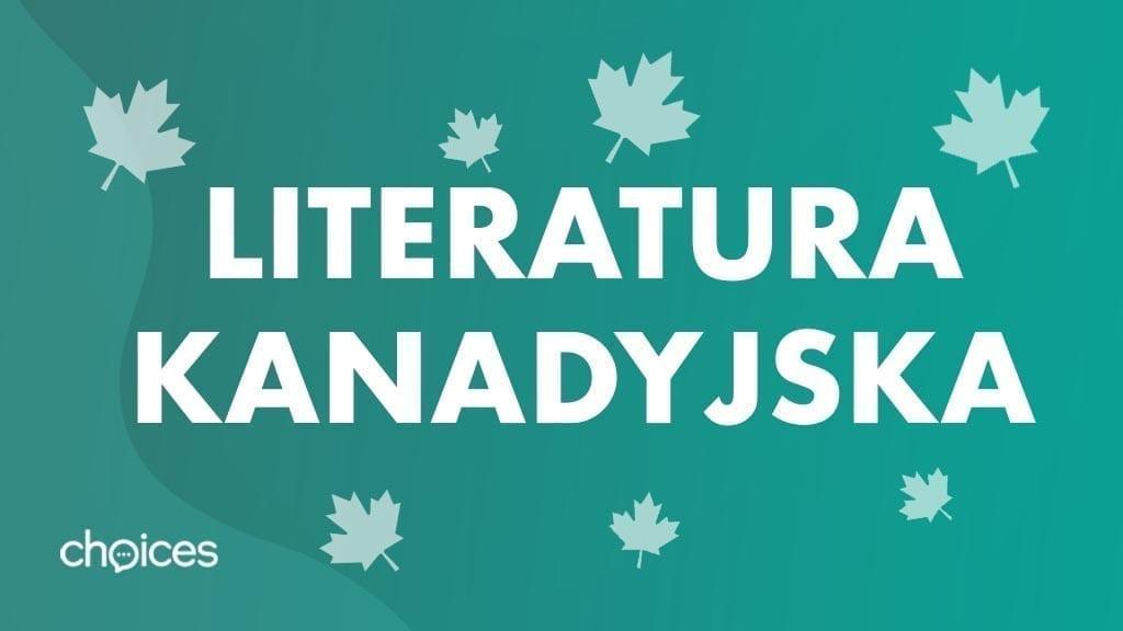 Literatura kanadyjska