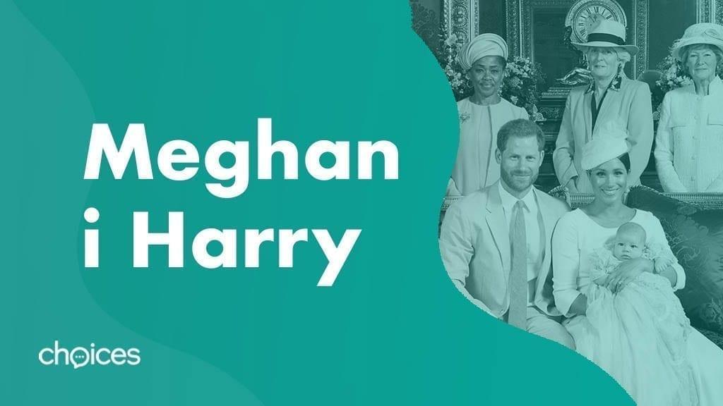 Książę i księżna Sussexu Meghan i Harry