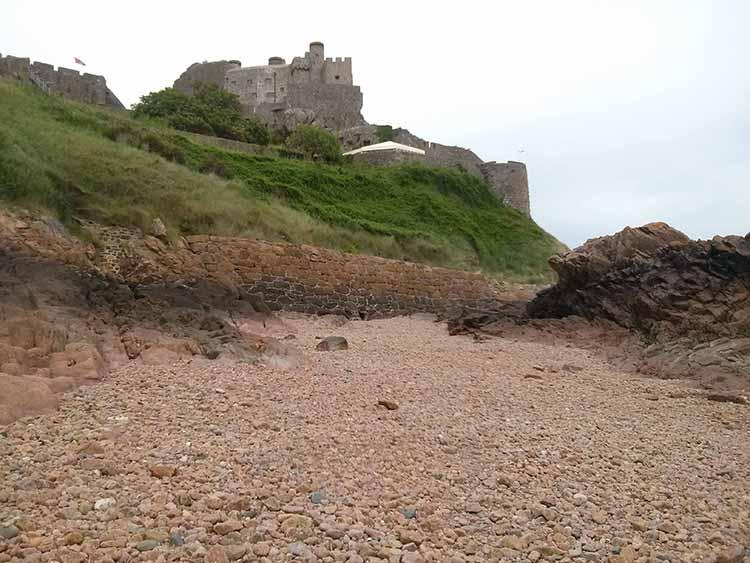Wyspa Jersey - Mont Orgueil Castle
