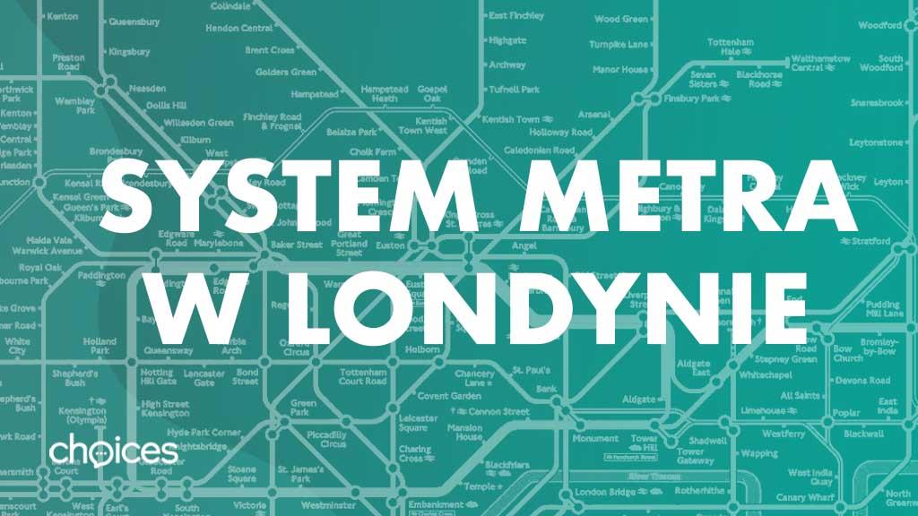 System metra w Londynie