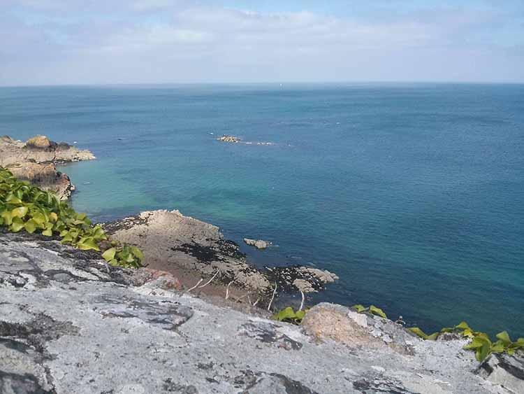 Wyspa Jersey - View from Gorey